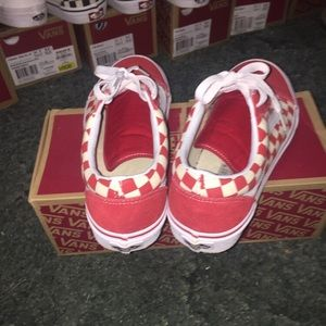 eccd7bc11c0f Vans Shoes | Old Skool Checkered Red Color Way | Poshmark